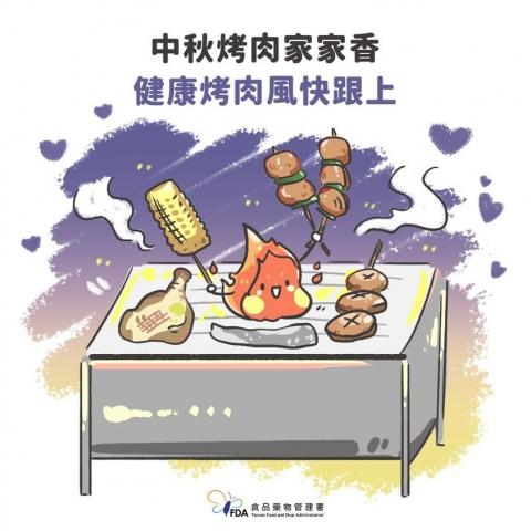 中秋烤肉健康吃